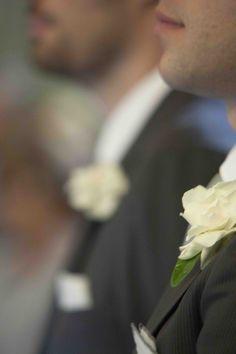 Boutonniere. Gardenie. #matrimonio