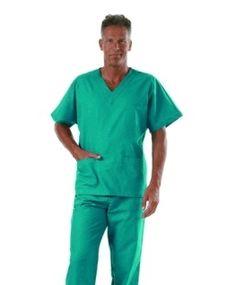 Camice Medico Uomo Donna Estetista Dentista Infermiere Verde