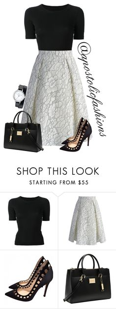 """Apostolic Fashions #1505"" by apostolicfashions ❤ liked on Polyvore featuring CÉLINE, Chicwish, Gianvito Rossi, Calvin Klein and Geneva"