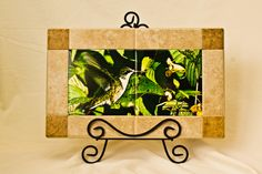 """HUMMING BIRD TILE IS 6"""" HIGH AND 12"""" WIDTH WITH A 2"""" BOARDER $40 plus shipping"""