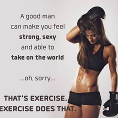 Strength training and exercise motivation. Fitness Quotes, Fitness Goals, Fitness Tips, Health Fitness, Fitness Wear, Gym Humour, Workout Humor, Workout Quotes, Food Workout