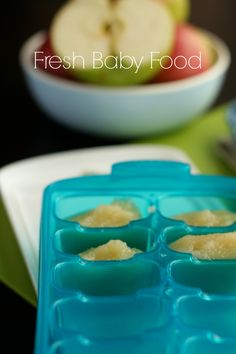 Homemade Baby Food + munchkin, will get it for my baby boy!