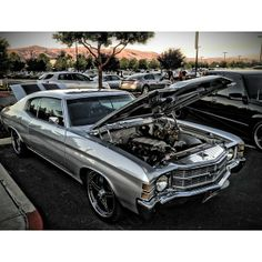 ss shaun LS Swapped Chevelle asanti wheels silver af144 5 star