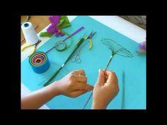 Fabrication d'une feuille de nénuphar - ou de lotus - en collant
