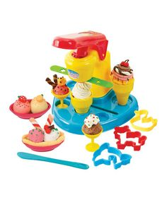 Take a look at this Ice Cream Bar Play Set by Playgo on #zulily today!