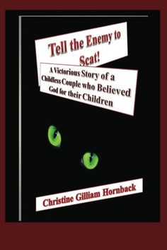 Tell the Enemy to Scat by Christine Hornback Last Day for FREE Giveaway! We all have an enemy of our soul (Mind, Will, Emotions, Intellect) Tell the Enemy to Scat! #truestory, #faithwalk,#faithinaction, #addtoyourfaith #Amazon https://www.amazon.com/dp/B00II2Q542/ref=cm_sw_r_pi_dp_U_x_C8V6AbEJGMWJY