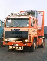 T.C.      Scania 141 with tandem reefer.  One of T.C. 141 's