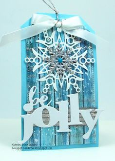 Hello and Welcome. I am just thrilled to be a part of Loll Thompson's 12 Tags of Christmas This is day seven, so if you ha...