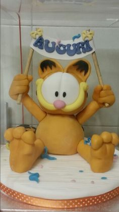 Garfield fondant