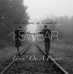 Livin On A Prayer - Bon Jovi By Cariann