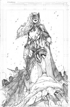 Batwoman - Demonpuppy's Wicked Awesome Art Blog