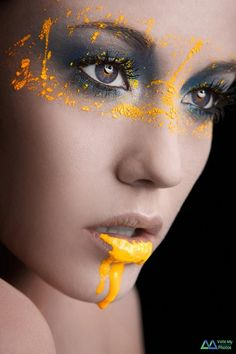 beautiful face and makeup.. id like to take a shoot like that sometime!