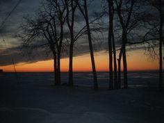 Winter 2011 - North Shore lake view