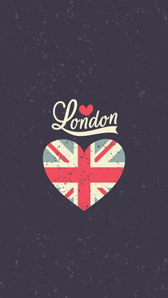 London UK Heart Flag IPhone Wallpapers Vintage Tap Image To Explore More Beautiful