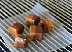 coffee chocolate caramels