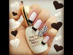nails, black, and nail art image Fabulous Nails, Gorgeous Nails, Love Nails, Fun Nails, Pretty Nails, Happy Nails, Chic Nails, Sexy Nails, Amazing Nails