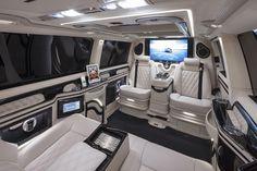 4 + 2 MTM T300 Volkswagen T5 Luxury Van Executive bentley leather cream white - LUXURY MOBILITY
