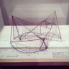 Philips Pavilion. model           Le Corbusier.