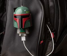 This geeky Boba Fett has a new mission, and the mission is to charge your mobile devices. The Star Wars Mighty Minis Boba Fett Usb Charger gives you extra