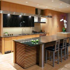 diseños de casas modernas y cocinas