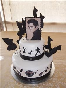 I LOVE this Elvis Cake