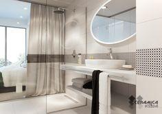 """OPOCZNO БЛЭК ЭНД ВАЙТ плитка для ванной купить в интернет-магазине """"Керамика"""". Гарантия низкой цены, фото, отзывы. House Design, Black And White, Interior Design, Mirror, Bathroom, Furniture, Home Decor, Collection, Keep Running"""