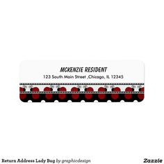 Sold #LadyBug #Label #insect #animals Available in different products. Check more at www.zazzle.com/graphicdesign