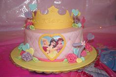 #Princess cake #Torta principesse #Disney princess cake #tiara #