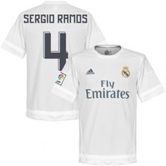 d644a5dc8be Sergio Ramos 2015 16 Real Madrid Soccer Jersey Football Shirt Trikot Maglia  Camiseta De Fútbol