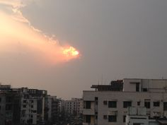 Sky of Dhaka City This Is Us, Weather, Sky, Celestial, Sunset, Outdoor, Outdoors, Heaven, Sunsets