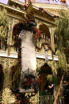 haunted mansion holiday at disneyland - Haunted Mansion Nightmare Before Christmas