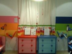 shared boy girl room separate dressers a must