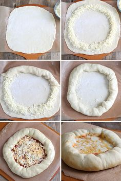 How To Make Gluten Free Stuffed Crust Pizza Step by Step