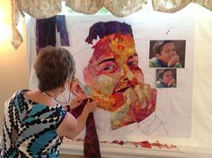 In 2012 I received an email from a quilter named Ria Mille who was interested in attendingmy Maine summer quilt retreat. This wasn'tan unusual occurrence. What caught my eye, besides her ch…