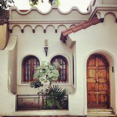 little Spanish houses...