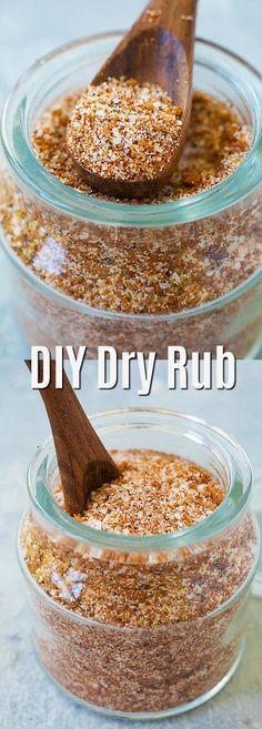 Homemade dry rub - Homemade Dry Rub – the best dry friction recipe ever. - Homemade dry rub – Homemade Dry Rub – the best dry friction recipe ever. Rub in ribs, chicken, - Rub For Pork Ribs, Dry Rub For Steak, Dry Rub For Chicken, Oven Ribs Dry Rub, Best Rub For Ribs, Best Steak Rub, Bbq Chicken Rub, Chicken Legs, Best Dry Rub Recipe