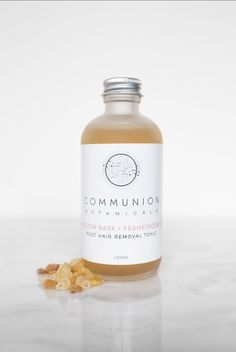Communion Botanicals Post Hair Removal Tonic Hair Tonic, Hair Removal, Communion, Whiskey Bottle, Skincare, How To Remove, Epilating, Skincare Routine, Skin Care