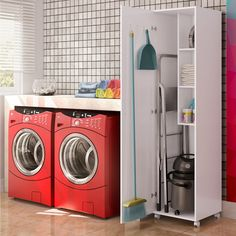 Laundry Room Remodel, Stacked Washer Dryer, Washing Machine, Home Appliances, Organization, House, Home Decor, Sissi, Decoration