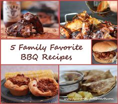 Full Hands, Full Hearts: 5 Family Favorite BBQ Recipes & Giveaway