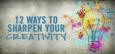 Feel like you need to boost your creativity?