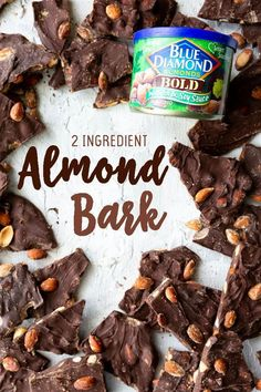 This post is sponsored by Blue Diamond, all opinions (and my love of Wasabi Chocolate Almond Bark, Melting Chocolate, Almond Bark Recipes, Good Food, Yummy Food, Delicious Recipes, How To Make Chocolate, Sweet And Spicy, Spice Things Up