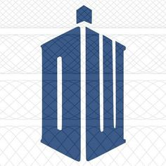 New Doctor Who TARDIS Logo SVG PNG and STUDIO3 Cut Files for