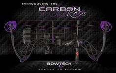 Bowtech Carbon Rose! The most lightweight womens bow out there, best part, NO PINK!