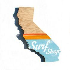 Surf Shop by Sean Finocchio - concept for state design for store locators