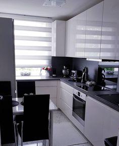White kitchen, Modern kitchen, Kitchen Source by zlemklarslan Kitchen Room Design, Modern Kitchen Design, Home Decor Kitchen, Kitchen Living, Interior Design Kitchen, New Kitchen, Home Kitchens, Rustic Kitchen, Modern Kitchen Interiors