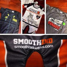 Kyle LeDuc, 2012 Pro 4 Champ in Lucas Oil Off Road Series just posted this on his #instagram page! Some gear for his new son, Reed. Congrats to you and the family, Kyle!  #mxbaby #smoothbaby #smooth #smoothmx #smoothind #kyleeduc #99 #mx @kyleeduc99 #lucasoil #offroad