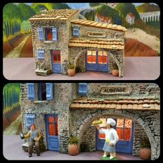 Santons Atelier de Fanny à Aubagne-Santons et Crèches de Noël-Santons de Provence - Auberge - 54.00 EUR