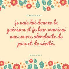 Jérémie 33: 6