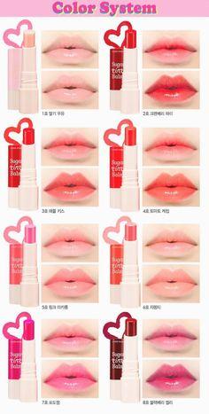 Elegant Korean make-up hacks; Select a lip pencil with a shade near lipstick . Korean make-up hacks; Select a lip penci. Makeup Korean Style, Korean Makeup Tips, Asian Makeup, Korean Beauty Tips, Makeup Style, Korean Lip Tint, Korean Lips, Kawaii Makeup, Cute Makeup