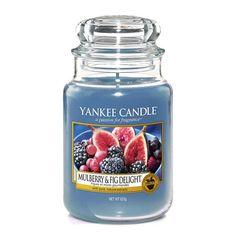 Mulberry & Fig Delight von Yankee Candle, ein toller Duft für den Herbst. Fruchtig, aber nicht zu süß.